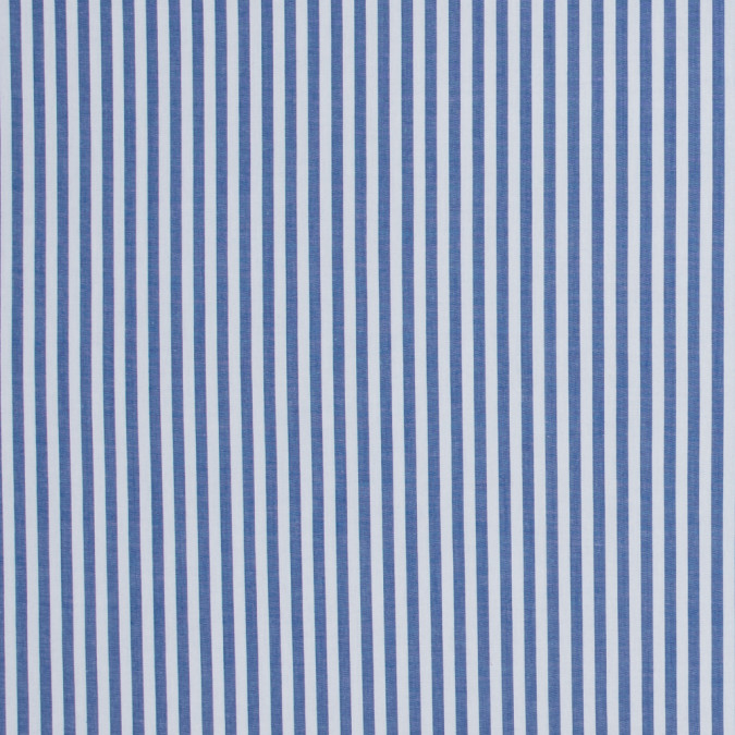 medium blue candy striped stretch cotton poplin 316480 11
