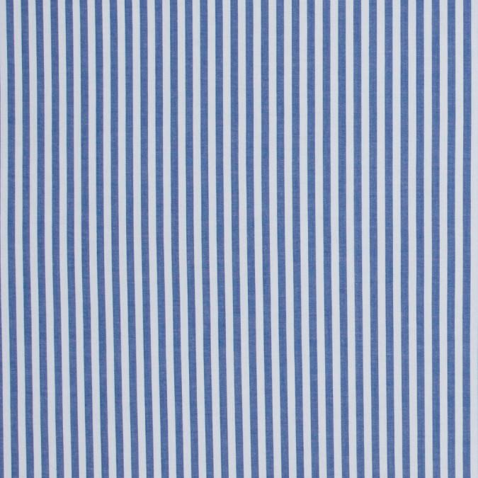 medium blue candy striped stretch cotton poplin 316480 11