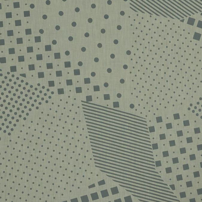 mellow yellow geometric poly cotton burnout 318857 11