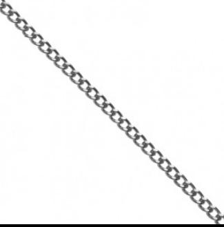metal chain 110218 silver