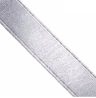 metalic elastic band silver