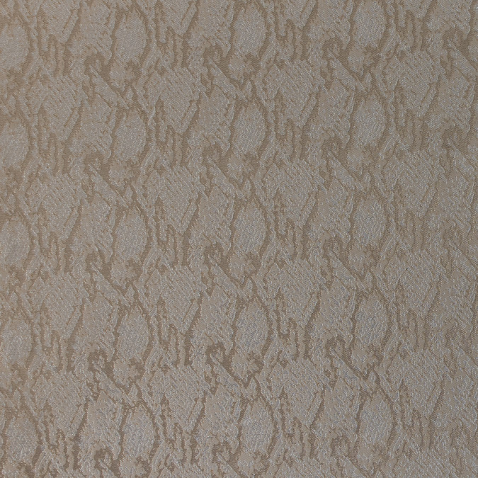 metallic beige and nude python jacquard 318338 11