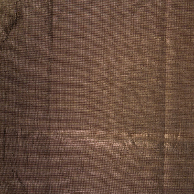 metallic black gold cotton poly lawn 305962 11