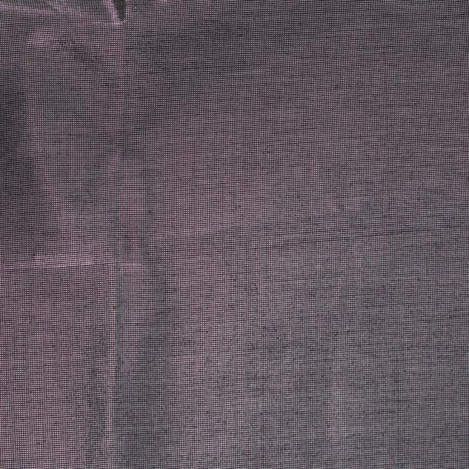 metallic black silver cotton poly lawn 306009 11