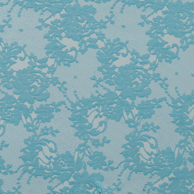 metallic bluebird and white lacey floral brocade 315451 11
