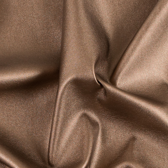 metallic bronze stretch faux leather vinyl 311404 11