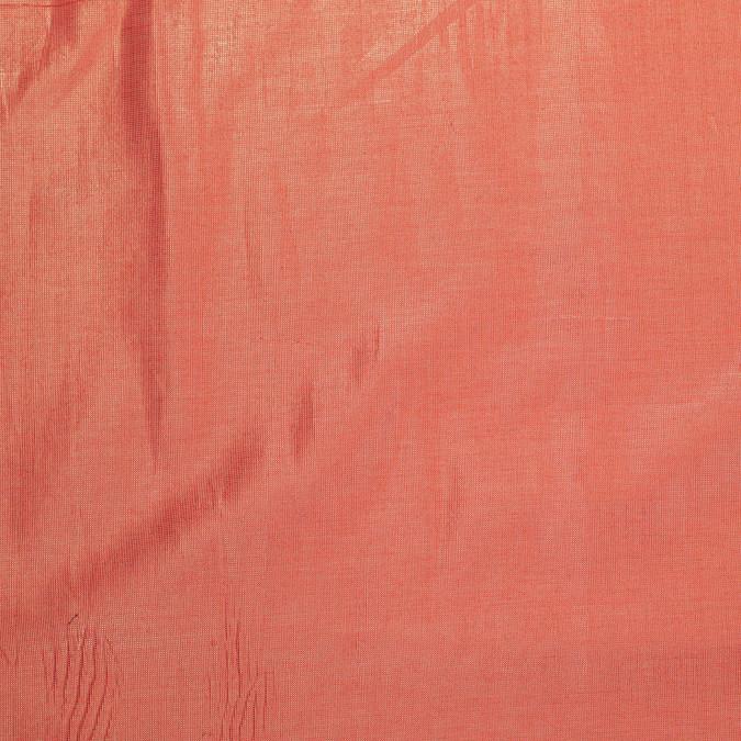 metallic coral gold cotton poly lawn 305963 11