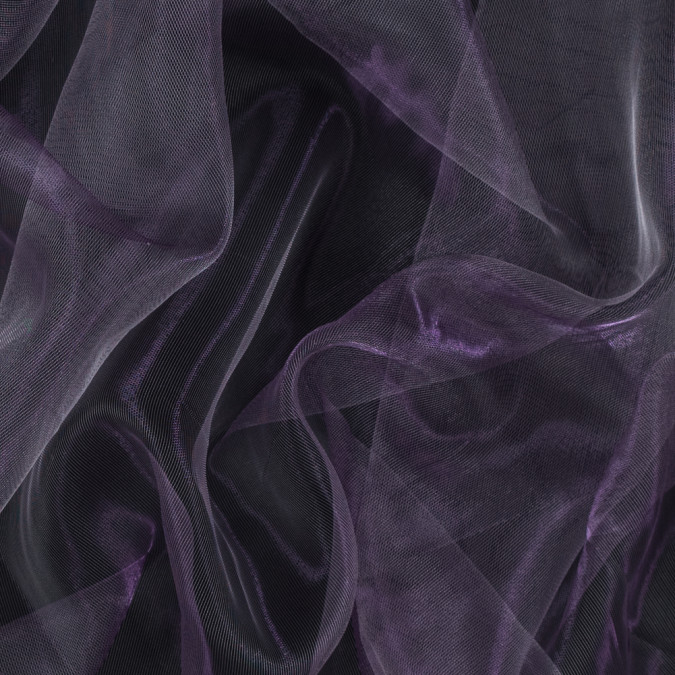 metallic dusty lavender 3d organza 115214 11