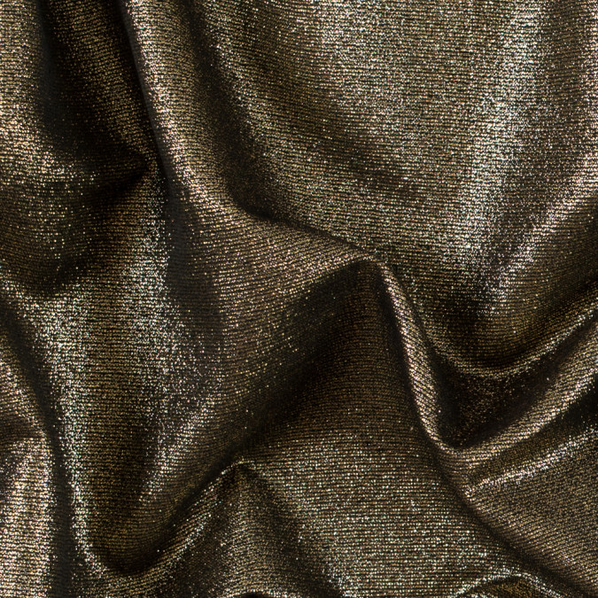 metallic gold and black jacquard 311124 11