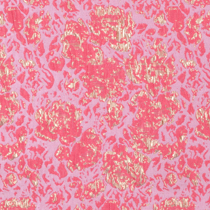 metallic gold and rose abstract brocade 312120 11
