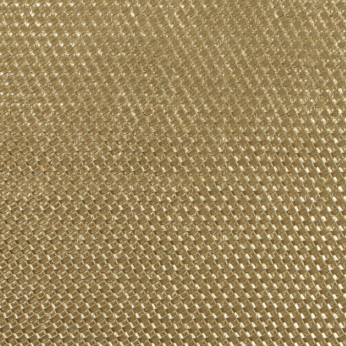 metallic gold basket woven vinyl 312791 11