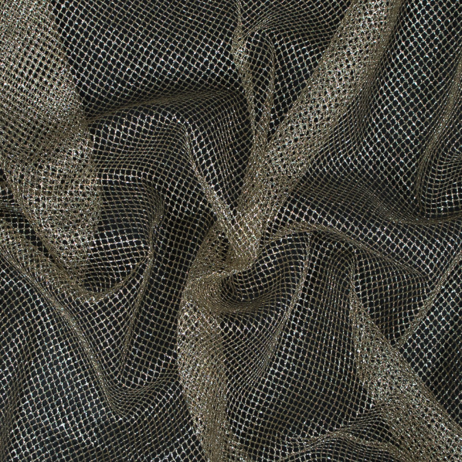 metallic gold diamond netting 110375 11