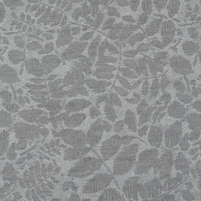 metallic griffin gray foliage brocade 311440 11