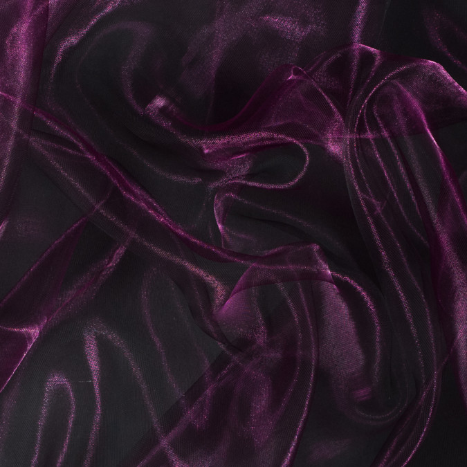 metallic plum 3d organza 112432 11