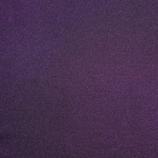 metallic purple glittery dty polyester jersey 307013 11