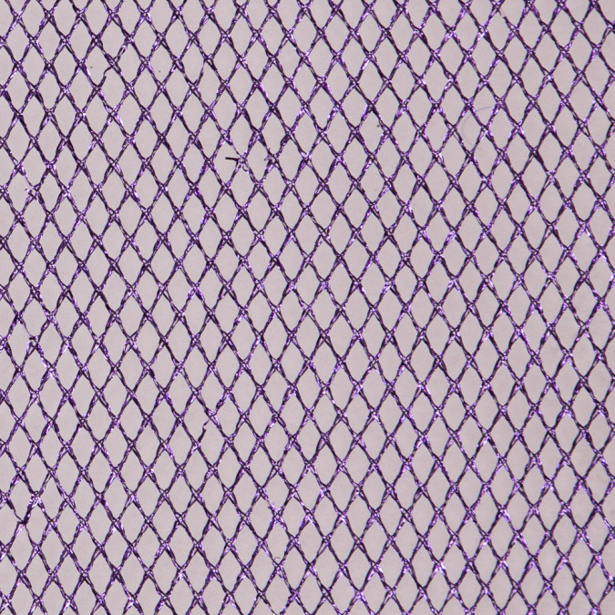 metallic purple razzle dazzle netting 111375 11