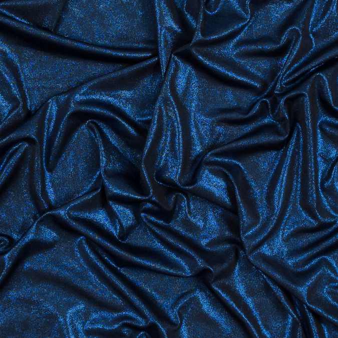 metallic royal all over foil knit 317265 11