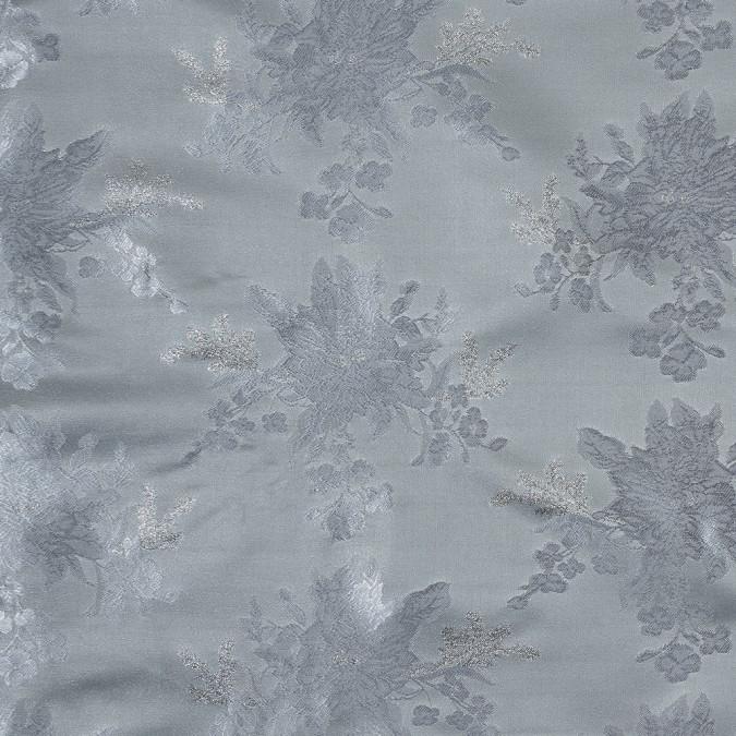 metallic silver floral jacquard 318348 11