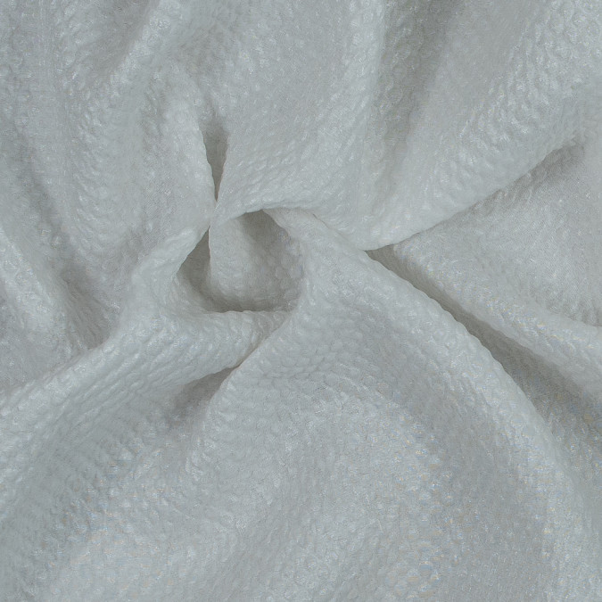 metallic white diamond quilted brocade 118970 11