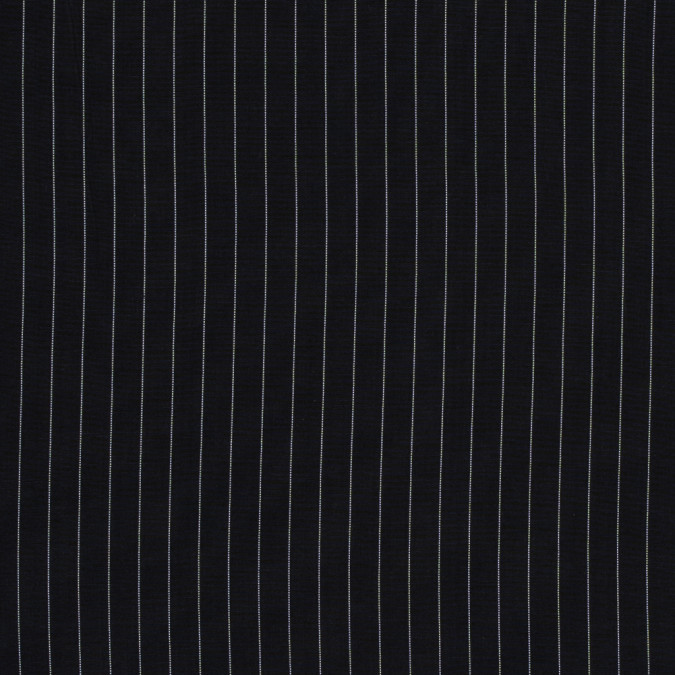 midnight blue and white pinstriped wool shirting 318142 11