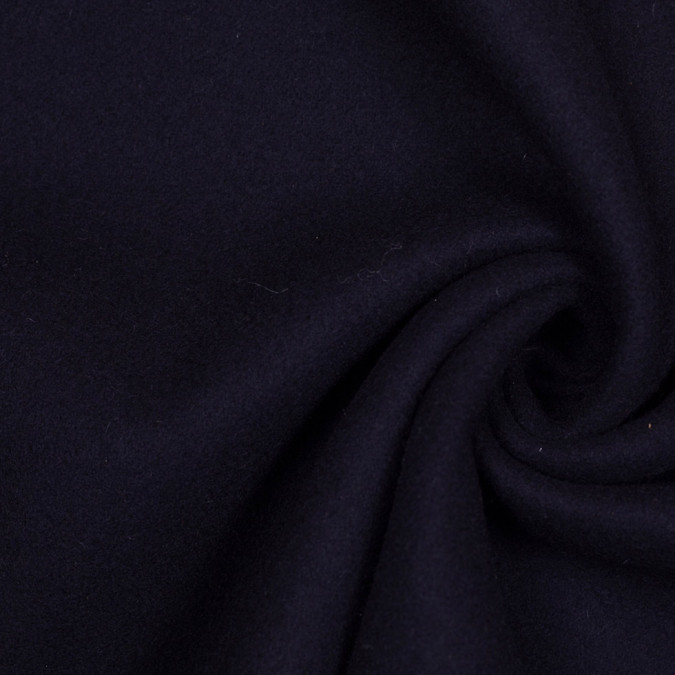 midnight blue double cloth wool 305910 11