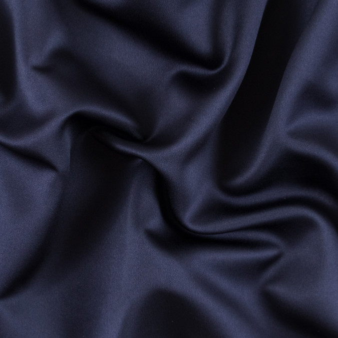 midnight blue polyester satin 313308 11