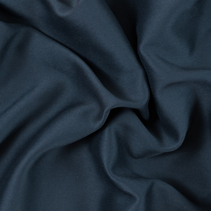 midnight navy twill backed polyester charmeuse 315378 11