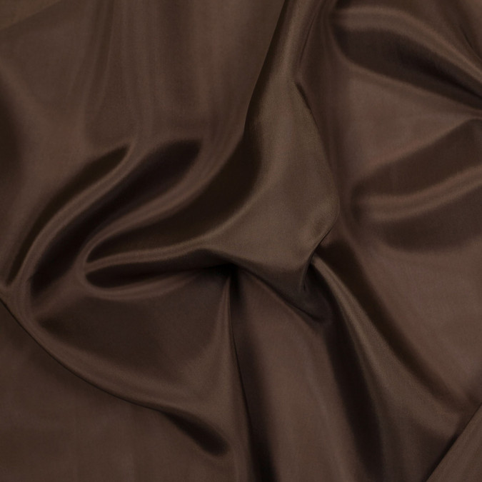 milk chocolate bemberg viscose lining 305406 11