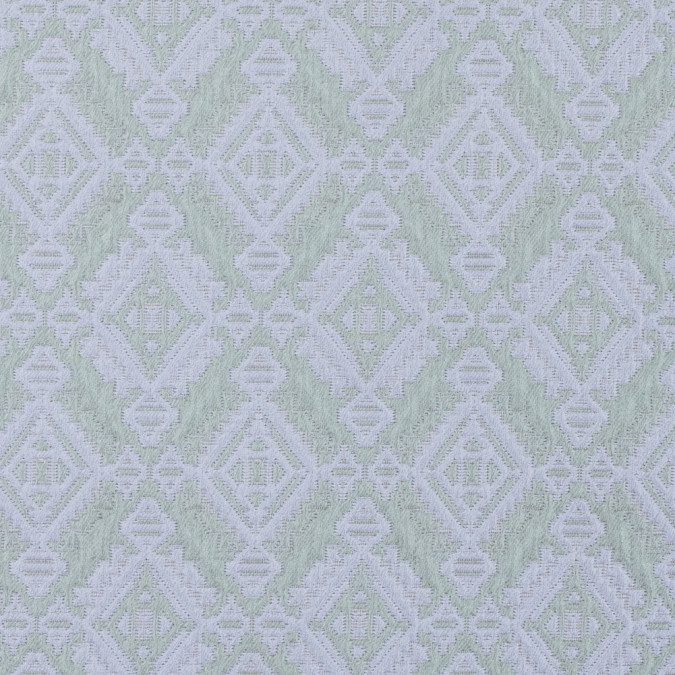 mint gray geometric brocade 311805 11