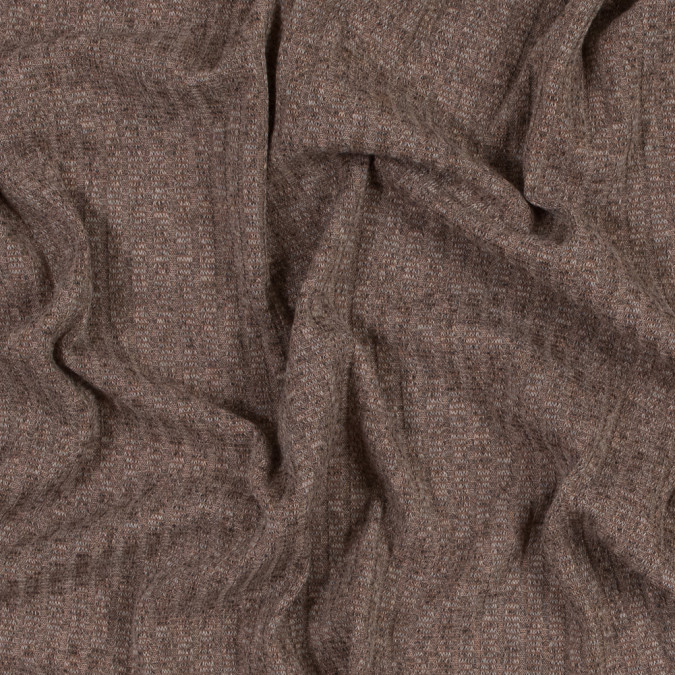 mocha ribbed sweater knit 317296 11