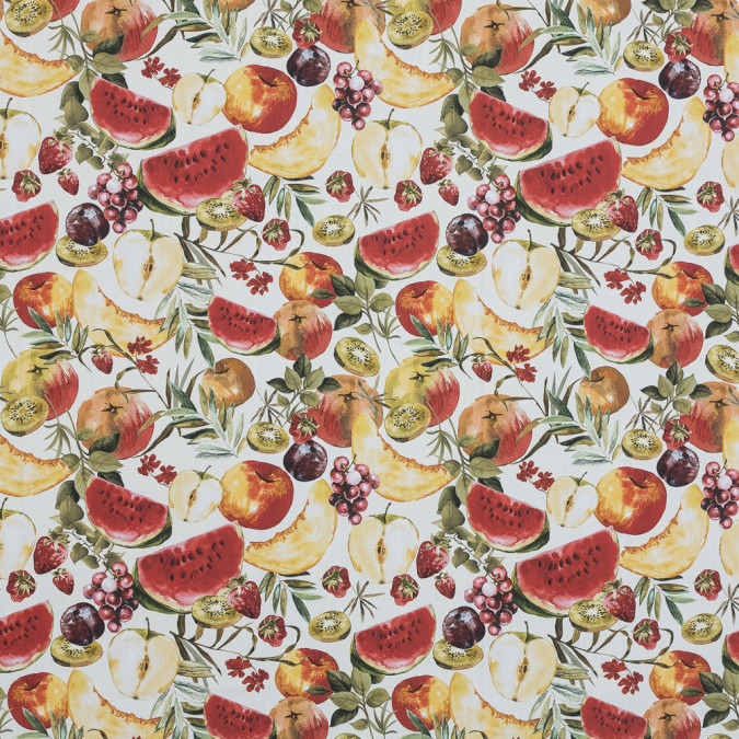 mood exclusive rafraichir des fruits white and multicolor cotton poplin md0035 11
