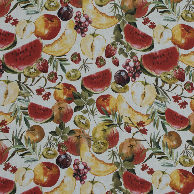 mood exclusive rafraichir des fruits white and multicolor cotton voile md0017 11