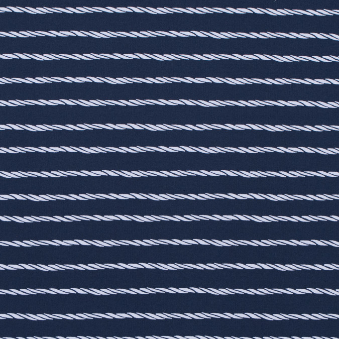 mood indigo striped ropes printed on a polyester spandex 313503 11