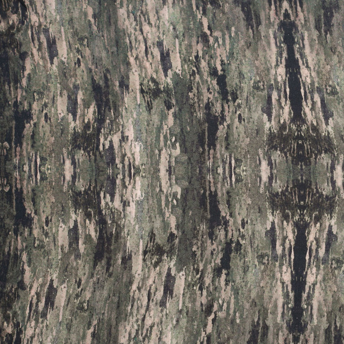 moss camouflage stretch cotton voile 306778 11