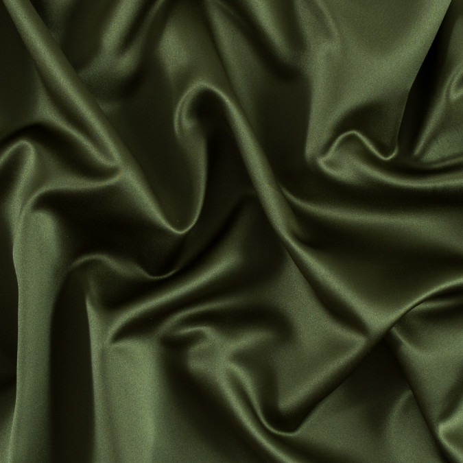 moss green solid polyester satin ms moss 11