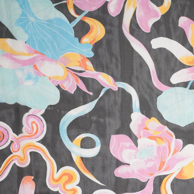 multi color floral printed silk chiffon 307157 11