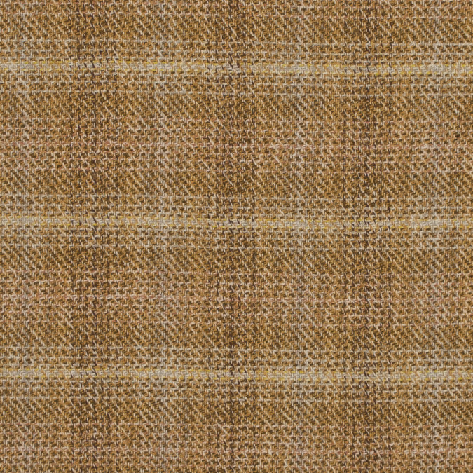 mustard and olive twill wool coating 317869 11