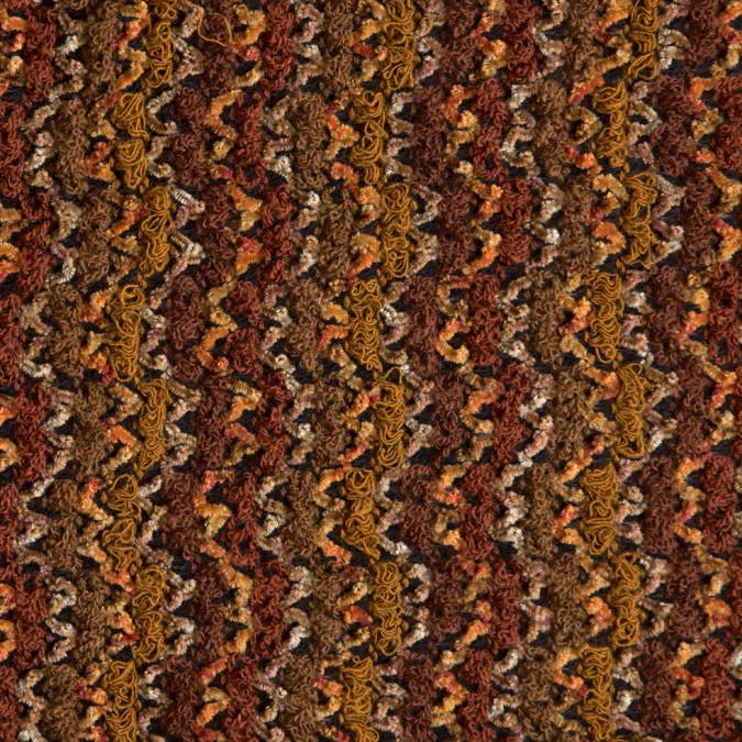 mustard rust textured loosley woven novelty 309392 11