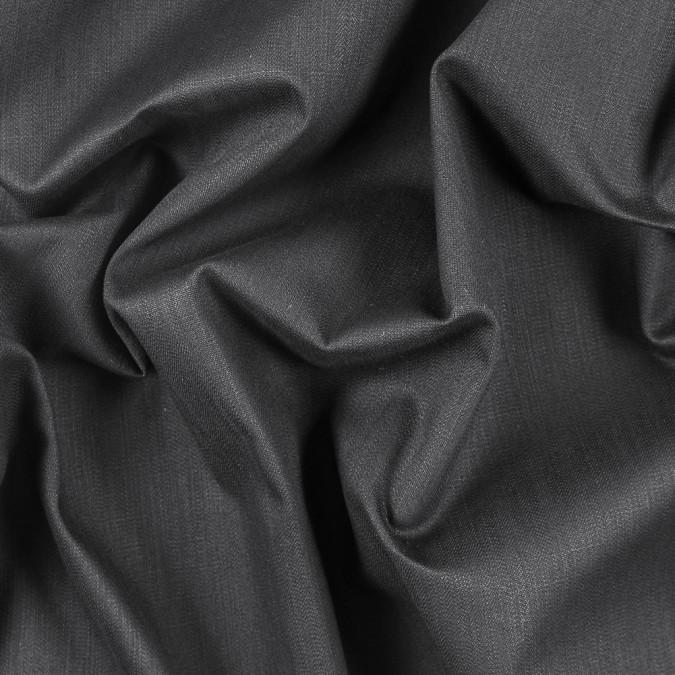 muted black stretch cotton stretch cotton twill 311907 11