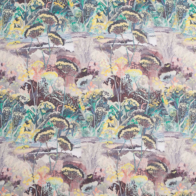 mystic swamp digitally printed polyester charmeuse 307413 11
