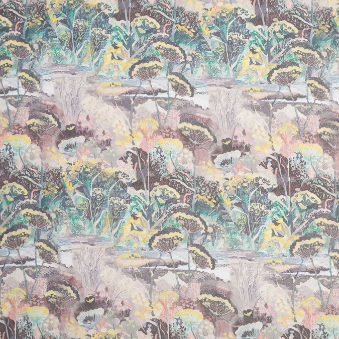 mystic swamp digitally printed polyester chiffon 307390 11