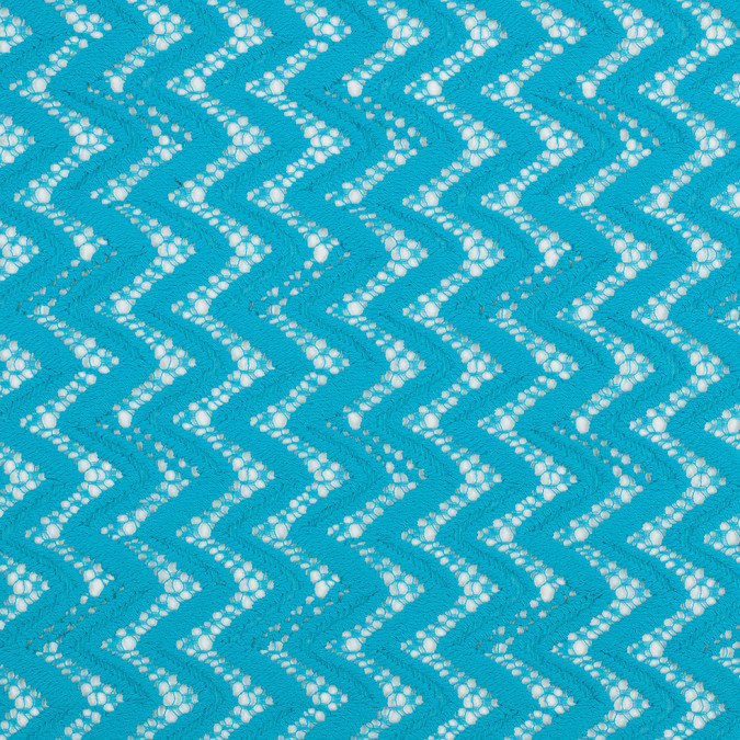 nanette lepore blue atoll zig zag cotton poly lace 308903 11