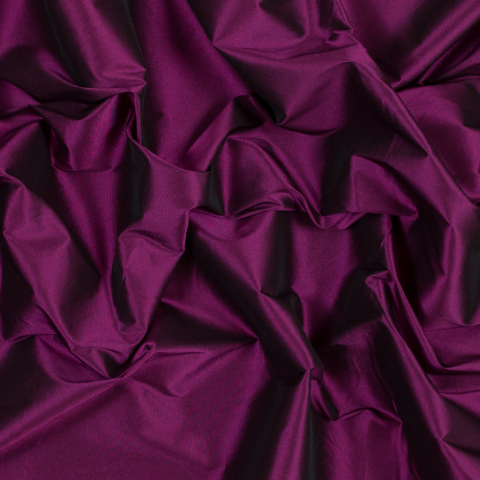 nanette lepore magenta and black iridescent stretch polyester taffeta 318504 11