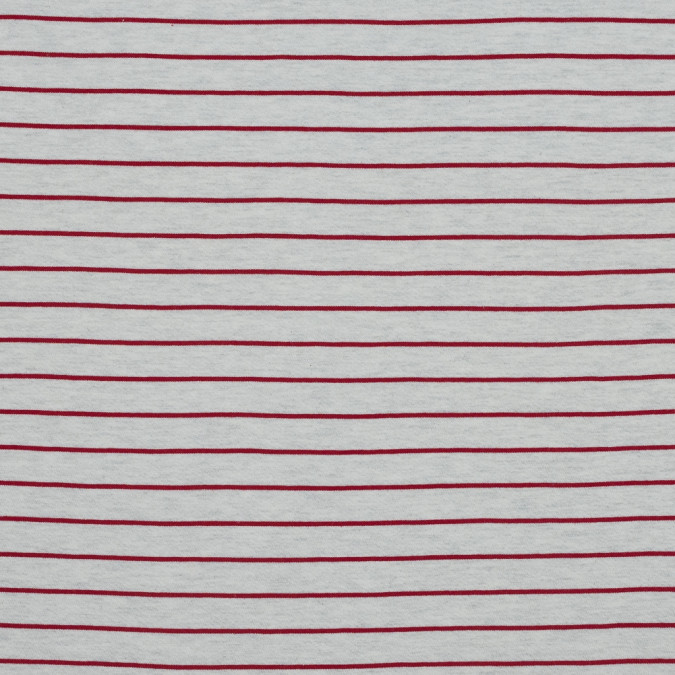 natural and red pencil striped french terry 318130 11