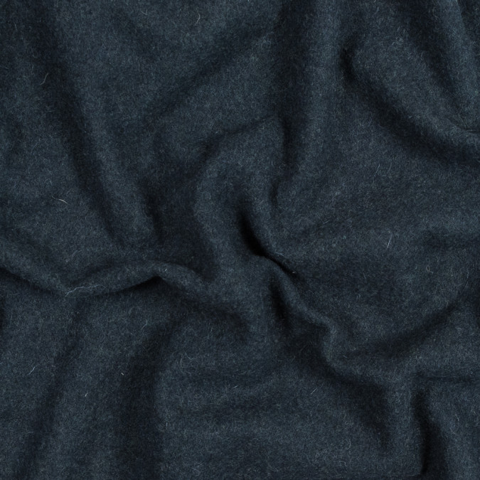 navy and teal heathered wool coating 317212 11