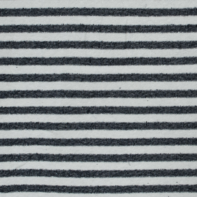 navy and white bengal striped cotton knit 318653 11