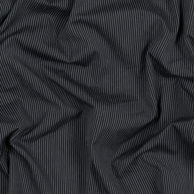 navy and white pinstriped cotton shirting 318826 11