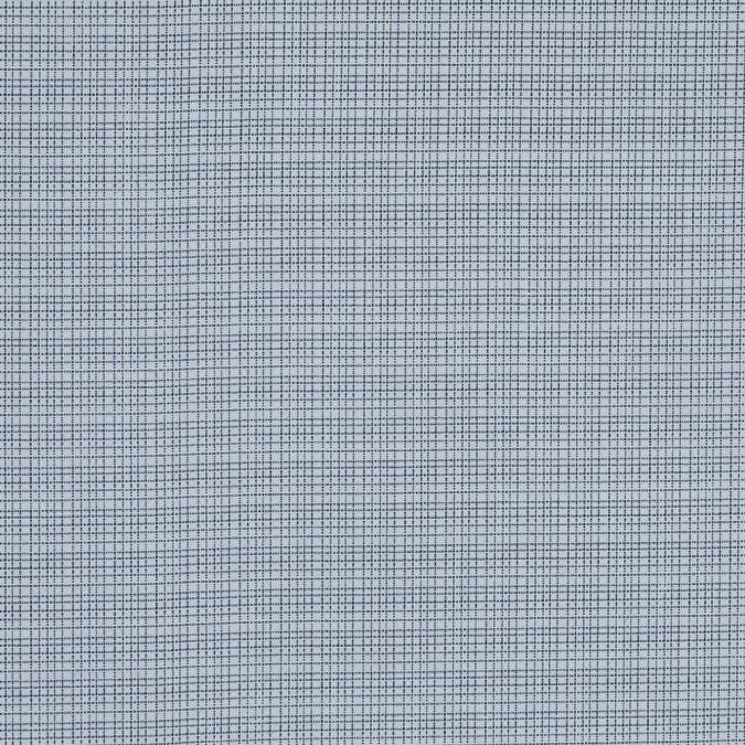 navy and white plaid cotton shirting 318802 11