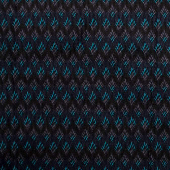 navy black striped geometric stretch cotton corduroy 305987 11