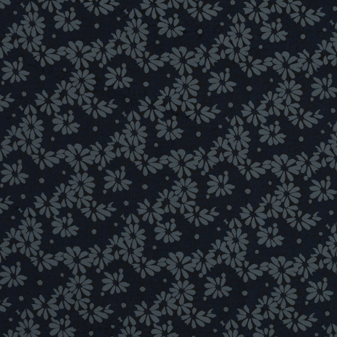 navy blue and lake black floral jacquard 318320 11
